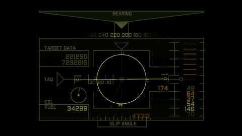 Radar GPS navigation screen display,computer game interface,tech software panel Animation