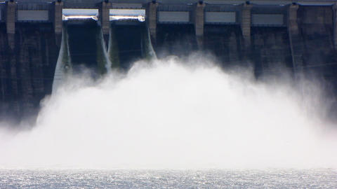 Spillway. 08 Stock Video Footage