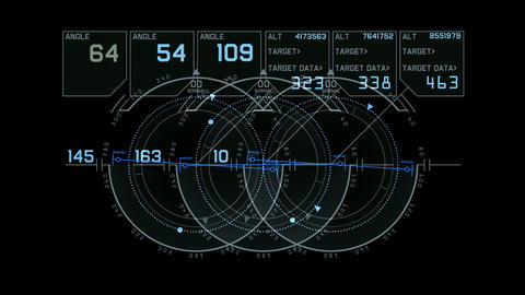 computer game interface,hi-tech software panel,aviation radar GPS navigation screen display,futurist Animation