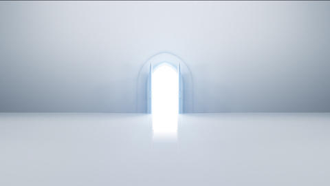 Door Opening loop CW F2 In HD Animation