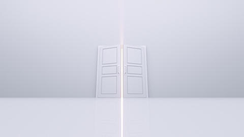 Door Opening loop DW M1 In HD Stock Video Footage