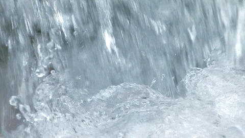 Water movement of the Small Waterfall,in Okutama... Stock Video Footage