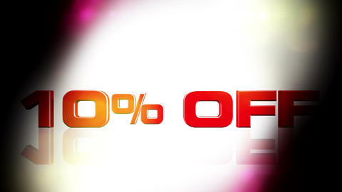 10 percent OFF 02 Animation