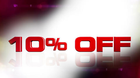 10 percent OFF 02 Stock Video Footage