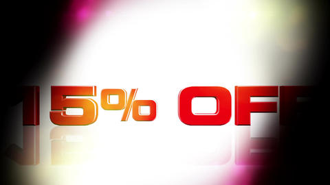 15 percent OFF 02 Animation