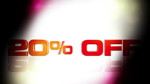 20 percent OFF 02 Animation
