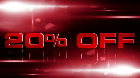 20 percent OFF 04 Stock Video Footage