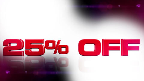 25 percent OFF 02 Stock Video Footage