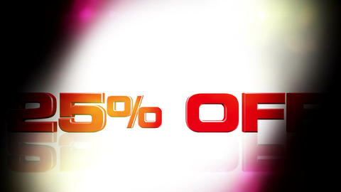 25 percent OFF 02 Animation