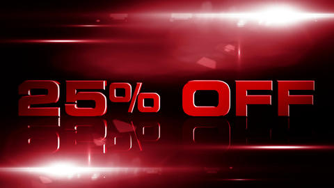 25 percent OFF 04 Stock Video Footage