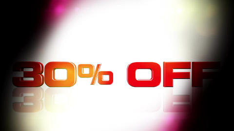 30 percent OFF 02 Animation