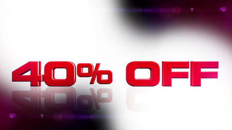 40 percent OFF 02 Stock Video Footage