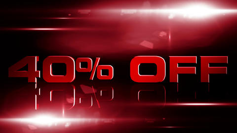 40 percent OFF 04 Stock Video Footage