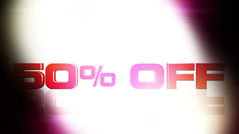 50 percent OFF 02 Stock Video Footage
