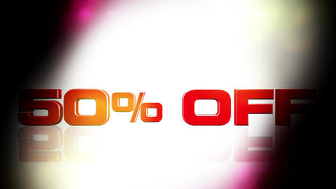 50 percent OFF 02 Animation