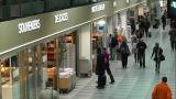 Airport Duty Free Shops 01 handheld Footage