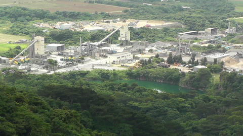 Cement and Concrete Factory in Japan 03 Footage