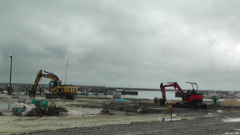Construction Work Machines 01 Stock Video Footage