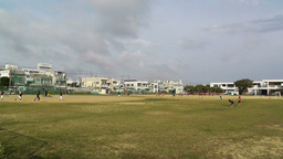 Elementary School Sport Center in Okinawa Islands Japan 01 Footage