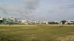 Elementary School Sport Center in Okinawa Islands Japan 01 Footage