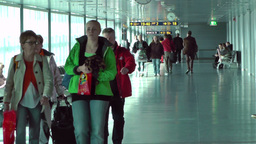 Helsinki Vantaa Airport 13 handheld Stock Video Footage