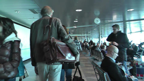 Helsinki Vantaa Airport 15 steady 60fps native slowmotion Stock Video Footage