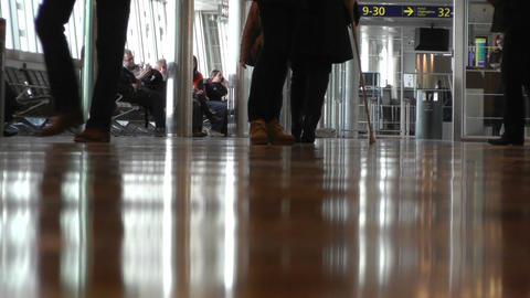 Helsinki Vantaa Airport 23 60fps native slowmotion Stock Video Footage