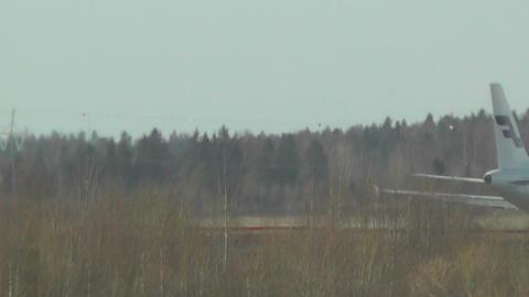 Helsinki Vantaa Airport 31 handheld Stock Video Footage