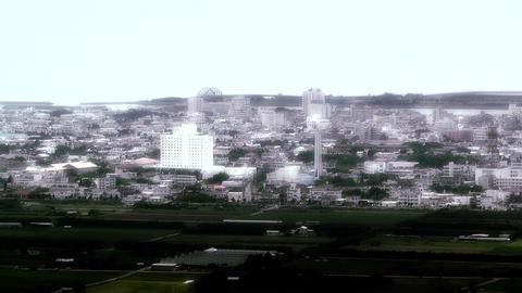 Ishigaki in Okinawa Islands stylized 01 Stock Video Footage