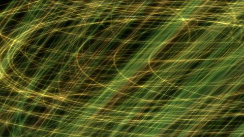 metal circle wire & fiber optic Stock Video Footage