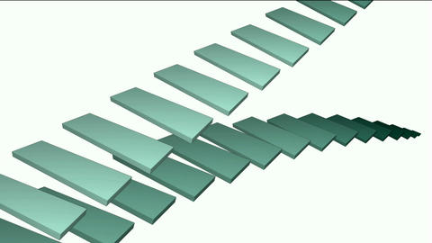 moving conveyor belt & stairs,square card papers math... Stock Video Footage