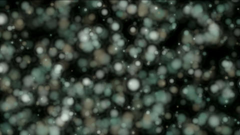 float particles & planktonic,abstract blur... Stock Video Footage