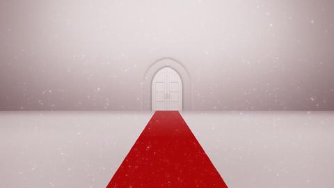 Door Opening CW F2 In 5 HD Stock Video Footage
