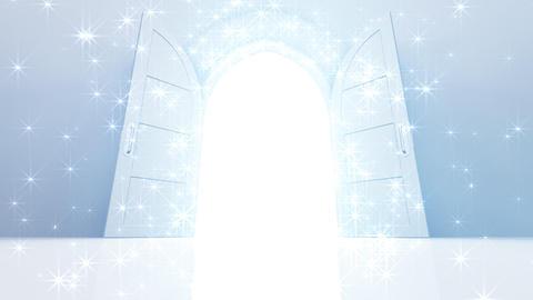 Door Opening CW M1 In 5 HD Stock Video Footage