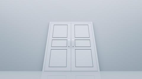 Door Opening DW M1 Fix 5 HD Stock Video Footage
