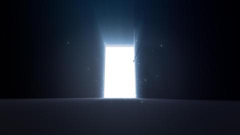 Door Opening SD M1 In 5 HD Stock Video Footage