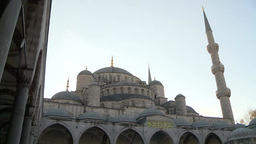 Blue Mosque in Istanbul, Turkey Footage