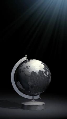 回る置かれた地球儀 Footage