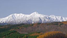 秋の夕張山地 芦別岳 Footage