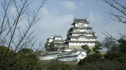 世界文化遺産と国宝の姫路城 Footage