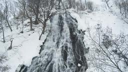 冬のオシンコシンの滝 Footage