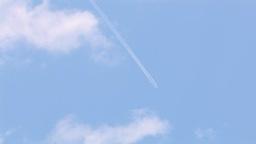 飛行機雲 Footage