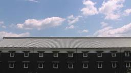 蔵と青空 stock footage