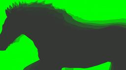 GALLOPING SHADE OF HORSE Animation