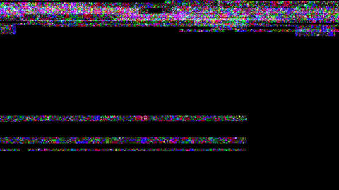 Noise Glitch Video Damage Stock Video Footage