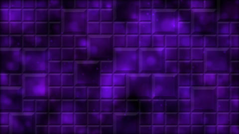 Tiled Background And Light Animation - Loop Violet stock footage