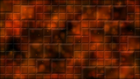 Tiled Background and Light Animation - Loop Fiery Red Animation