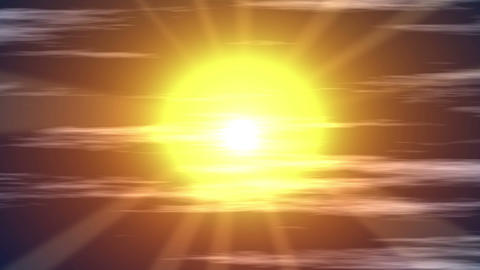 Sun Stock Video Footage