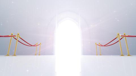 Door Opening CW M1 In 6 HD Stock Video Footage