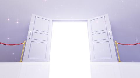 Door Opening DW M1 In 6 HD Stock Video Footage